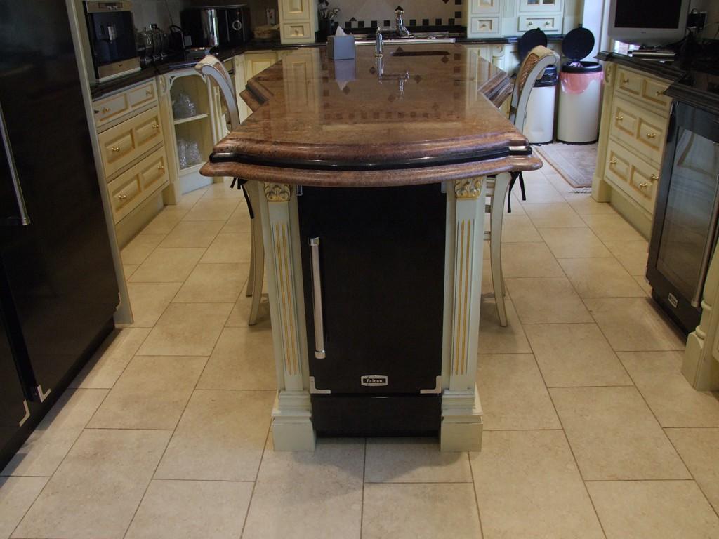 Crystal interiors bespoke handmade kitchen for Handmade kitchens